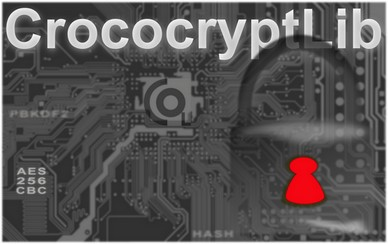 CrococryptLib: Java Cryptography & Encryption Library for Java and